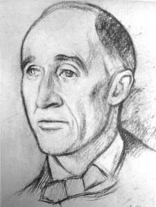 Delius by Rothenstein
