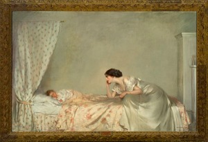 'A Problem in White' by Charles Moxon Quiller Orchardson