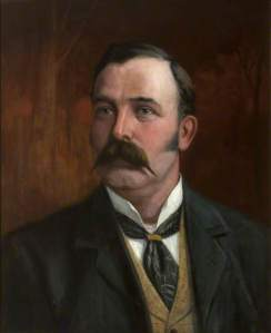 'Portrait of an Edwardian Gentleman' by Unknown Artist