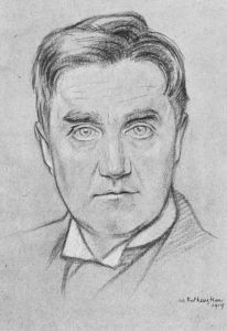 'Ralph Vaughan Williams' by William Rothenstein