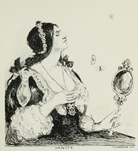 'Vanity' by D. Y. Cameron (The Yellow Book, Vol 13)