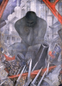'The Twentieth Century' by C R Nevinson