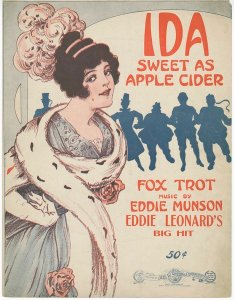 'Ida Sweet as Apple Cider' by Eddie Munson, 1916