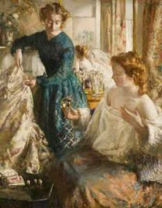 'The Crystal Gazers' by Henry Tonks, c.1905