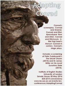 Adapting Conrad Poster