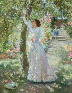 Ethel Walker, 'The Garden', c.1899 (Bradford Art Galleries)