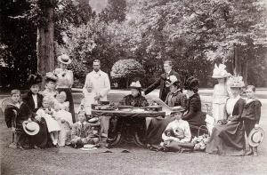 Queen Victoria in the Garden, c.1898