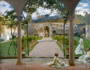 'At Torre Galli' by John Singer Sargent, 1910 (Royal Academy of Arts)