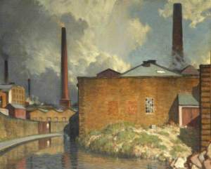 'The Yellow Wall, Blackburn,' Charles Holmes