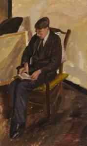 'Man Reading' by Barnett Freedman (c.1925)