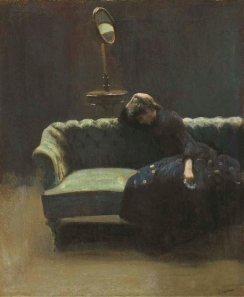 Walter Sickert, 'The End of the Act', c.1885