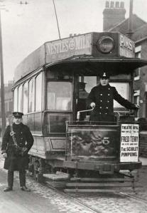 Electric Tram in Stoke-on-Trent