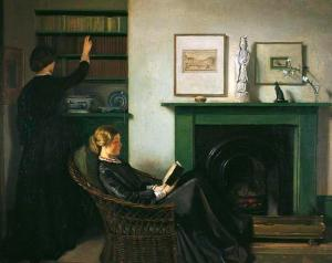 'The Browning Readers' by William Rothenstein, 1900