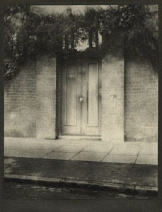 Alvin Langdon Coburn, 'The Door in the Wall'