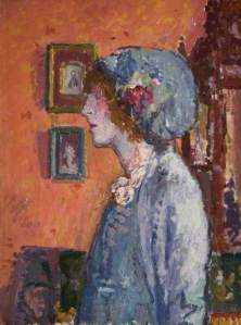 Spencer Gore, The Artist's Wife, c.1911