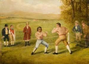 A Birmingham Prize Fight, c.1840