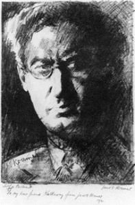 Self-Portrait by Jacob Kramer, 1930