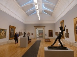 Recent installation of Edwardian art at the Tate Gallery