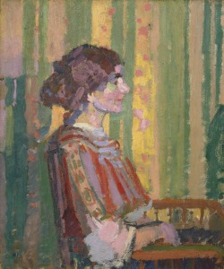 "Harold Gilman, ""Stanislawa de Karlowska"", c. 1913  (Yale Center for British Art)"