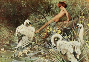 Arthur Wardle 'An Idyll of Summer'