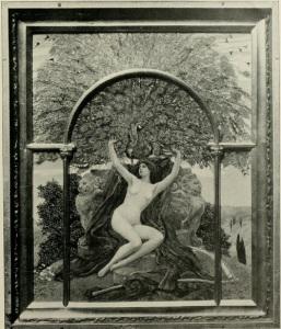 Huber von Herkomer 'Beauty's Altar'