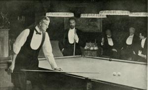 John Collier, 'The Billiard Players'
